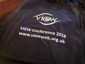 Photo of VIEW Conference Delegate Bag